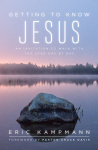 Getting to Know Jesus book cover for Media Room