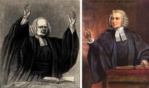 George Whitefield and Charles Wesley