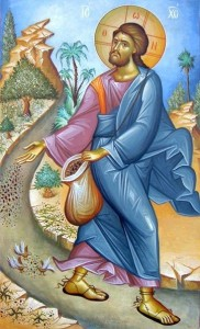 Jesus parable of the sower icon