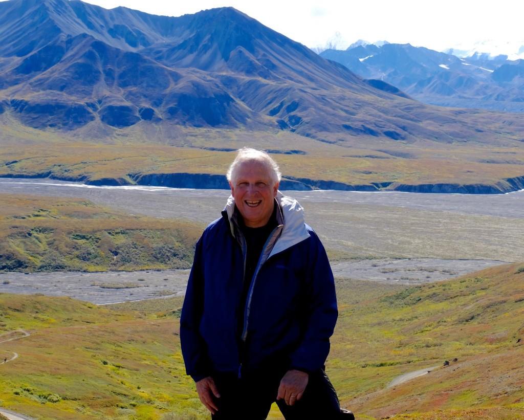 Eric Kampmann in Alaska, 2016